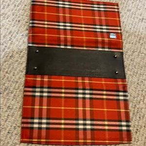 Red plaid Miche Classic shell
